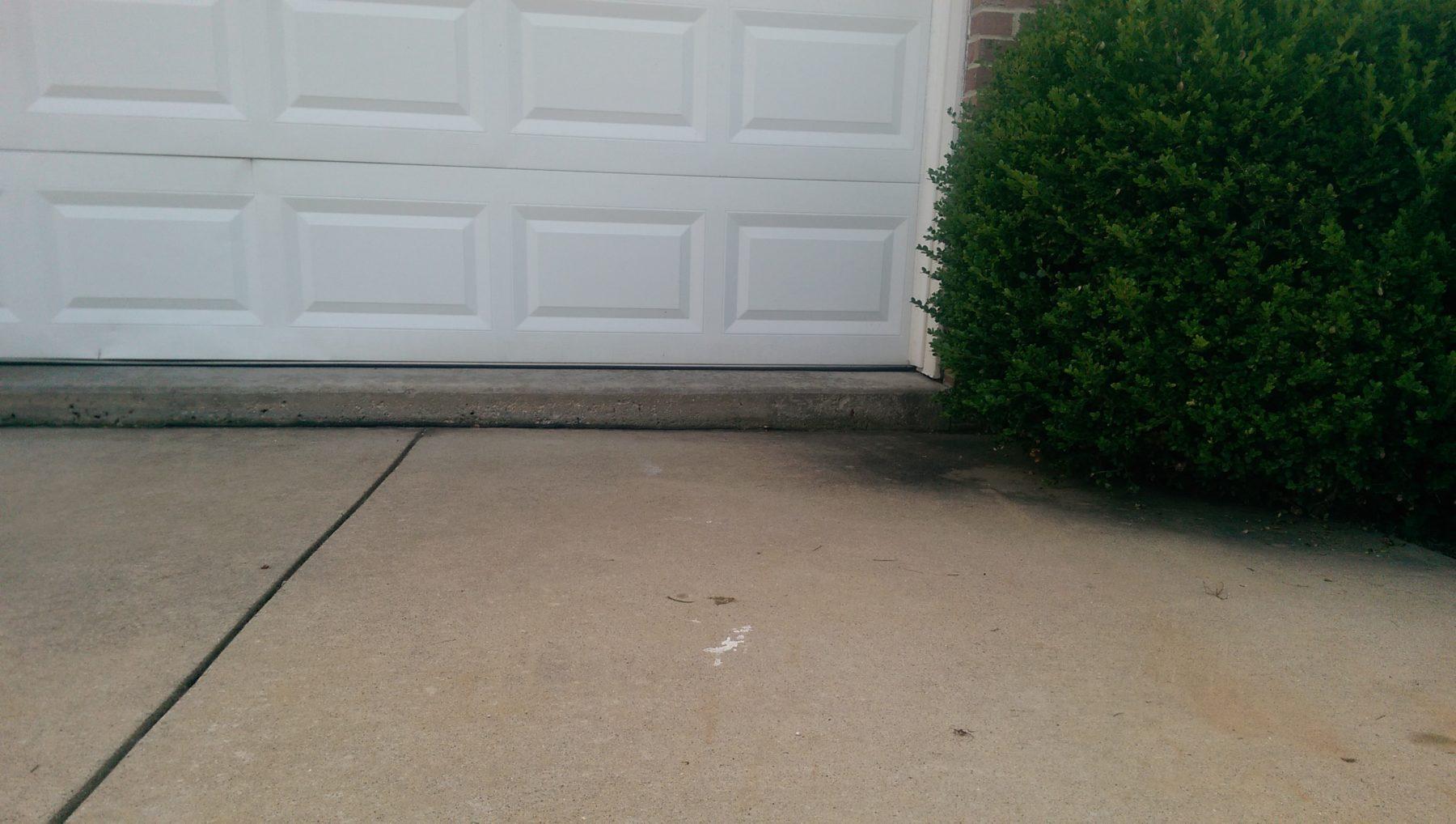 Concrete garage slabs a1 concrete leveling for Concrete slab for garage